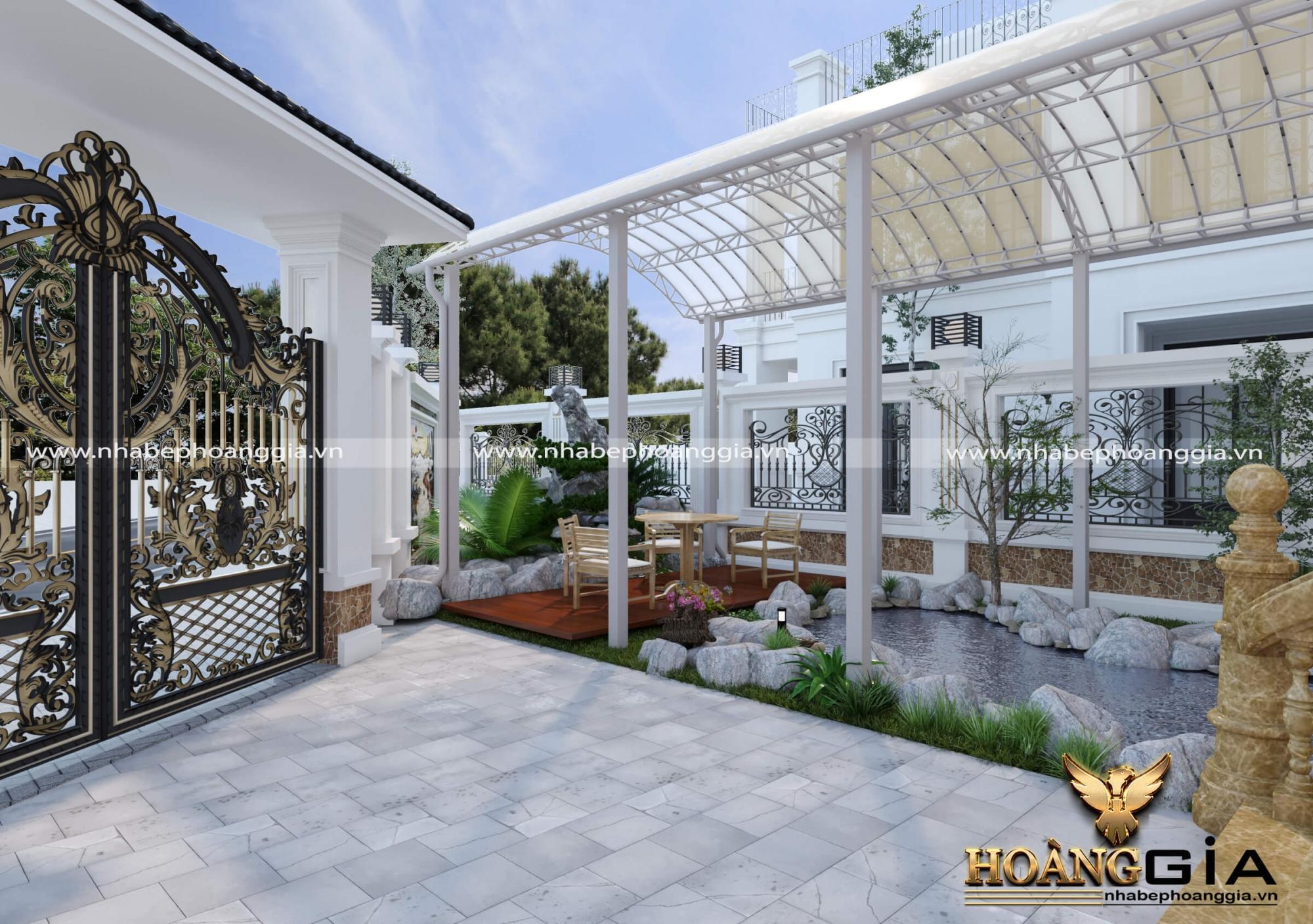 biệt thự nhà vườn đẹp