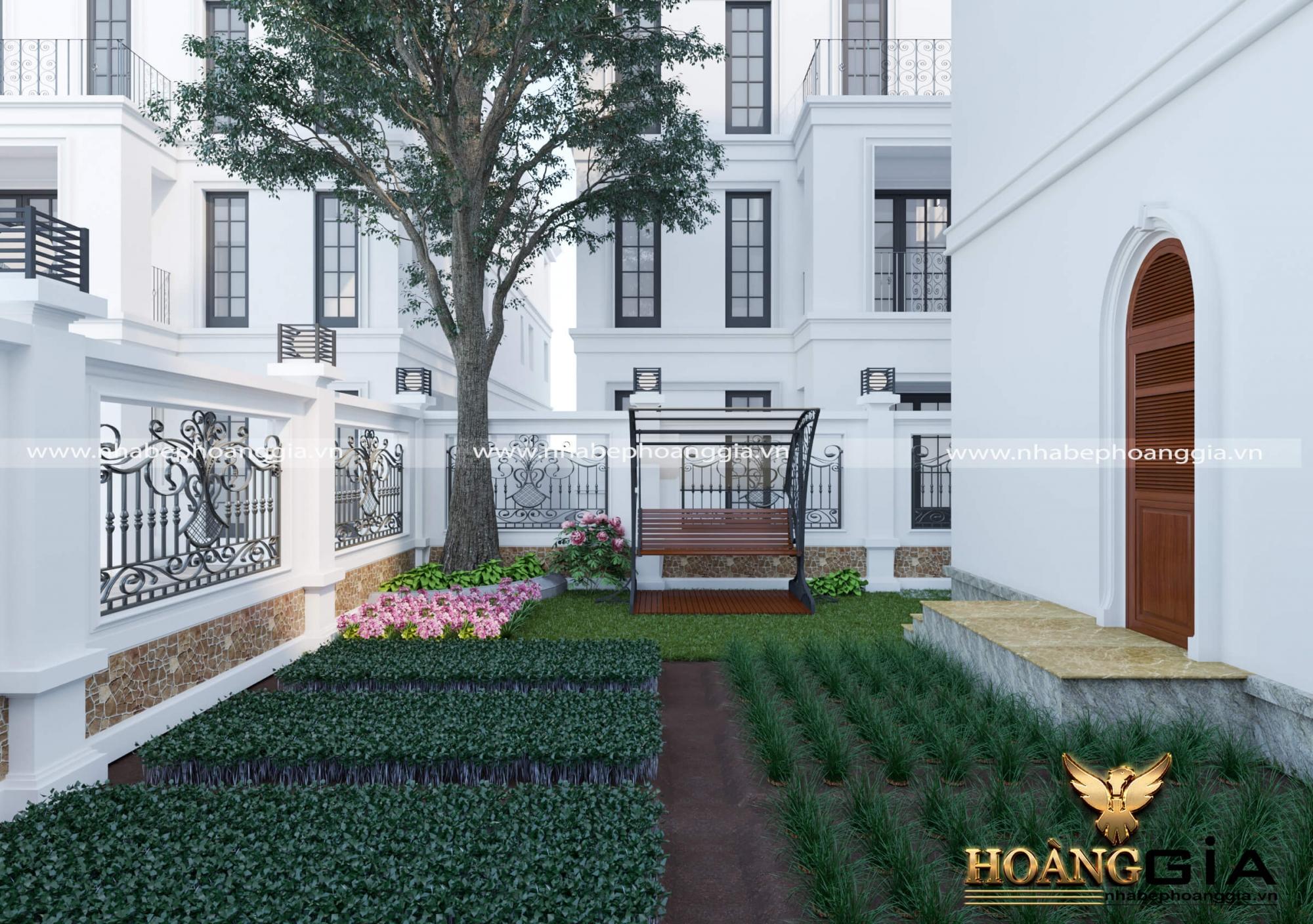 mẫu nhà vườn