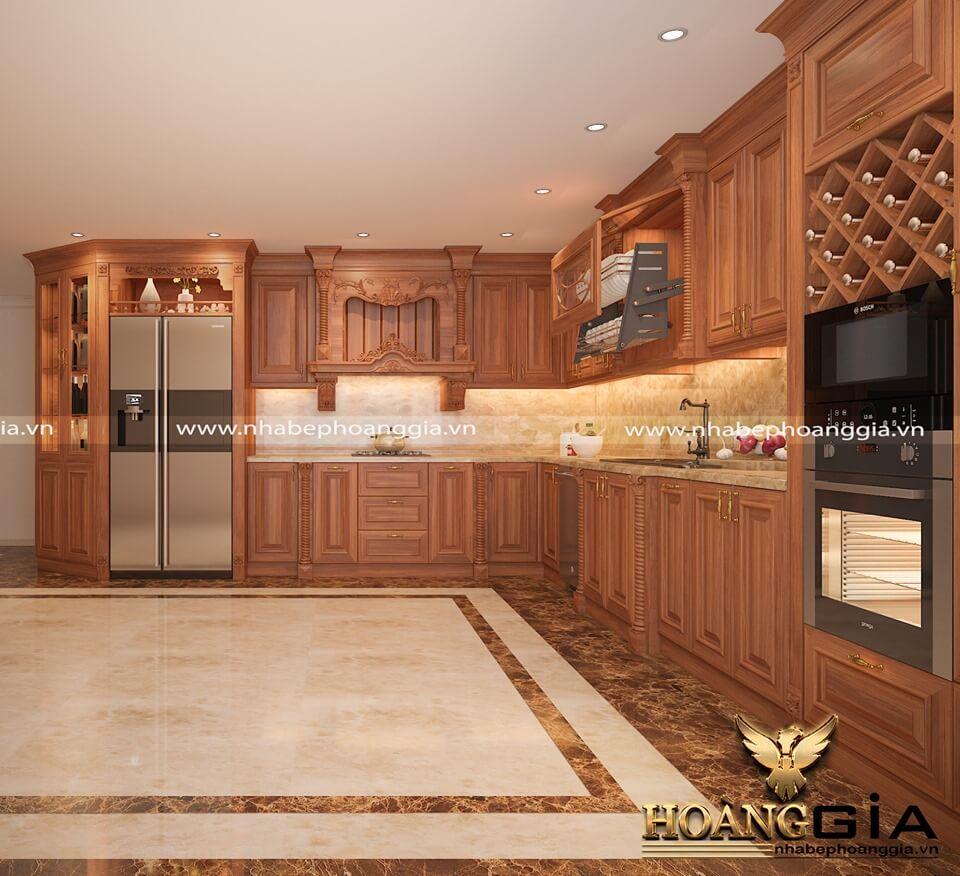 Tủ bếp - Khách hàng chị Hằng Bắc Ninh