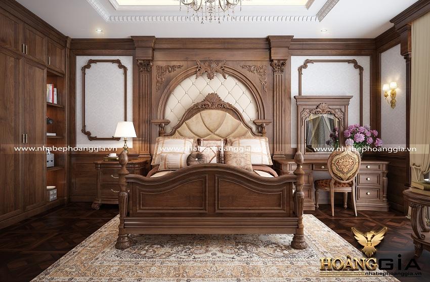 thiết kế nội thất phòng ngủ tân cổ điển 1