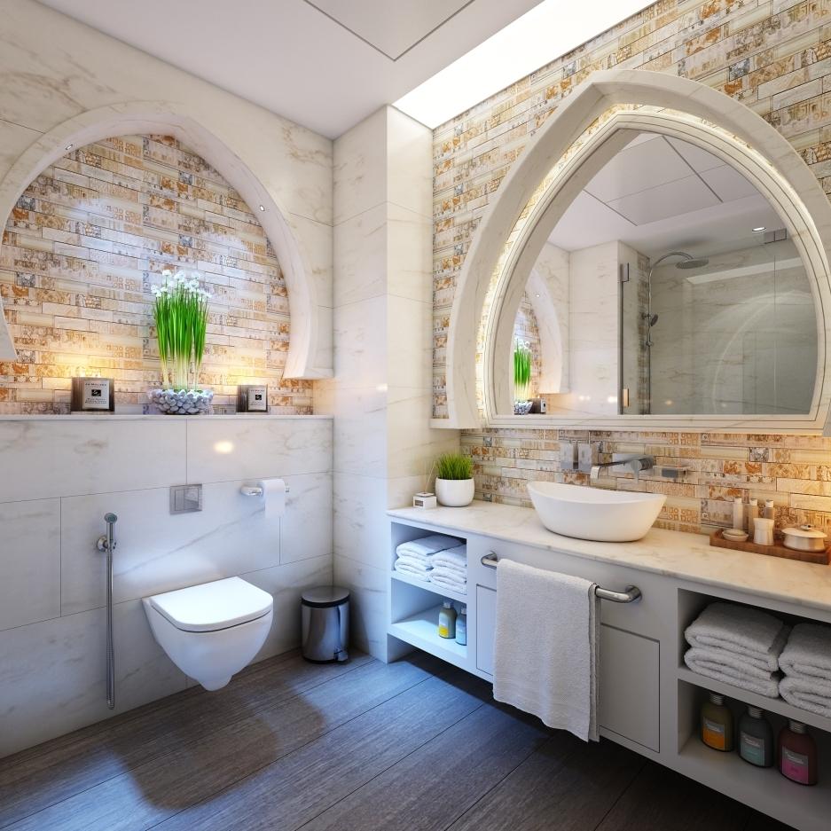 thiết kế nội thất phòng tắm đẹp năm 2019