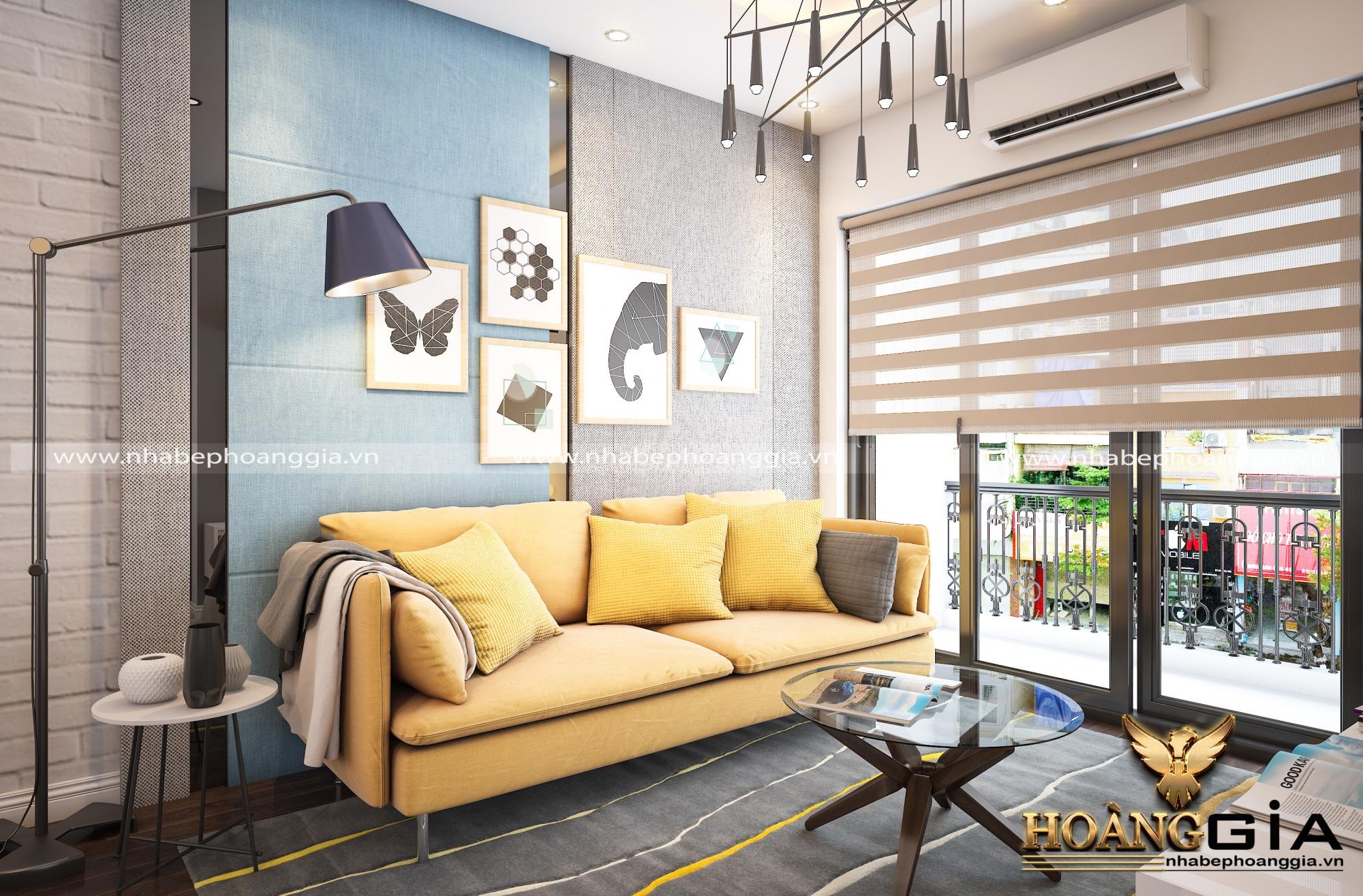 thiết kế nội thất khách bếp hiện đại 4