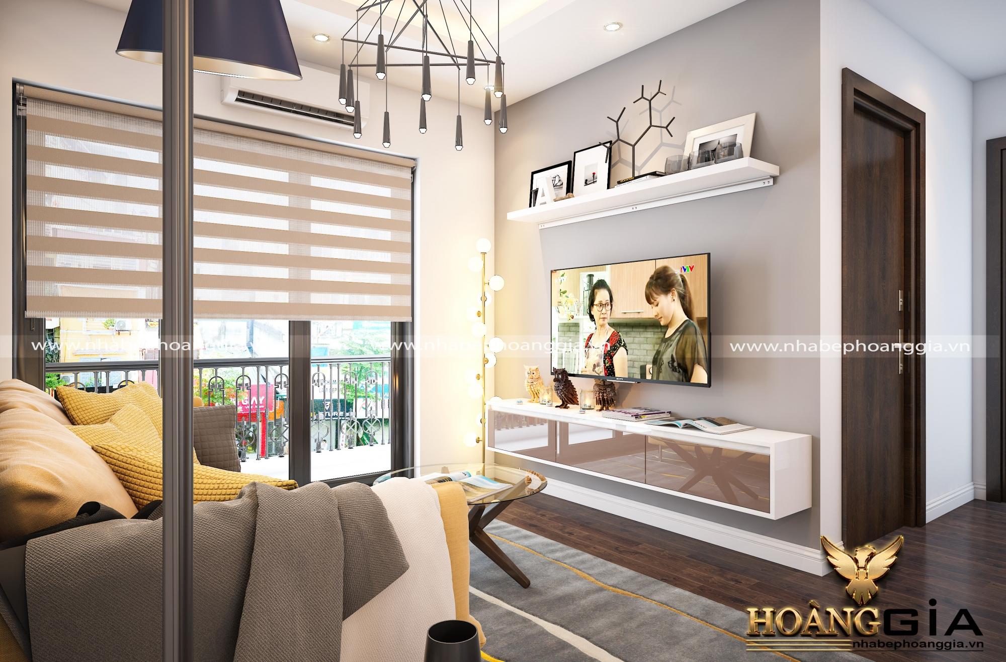 thiết kế nội thất khách bếp hiện đại 5