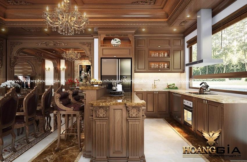 tủ bếp nhà anh Ngọc Phú Diễn