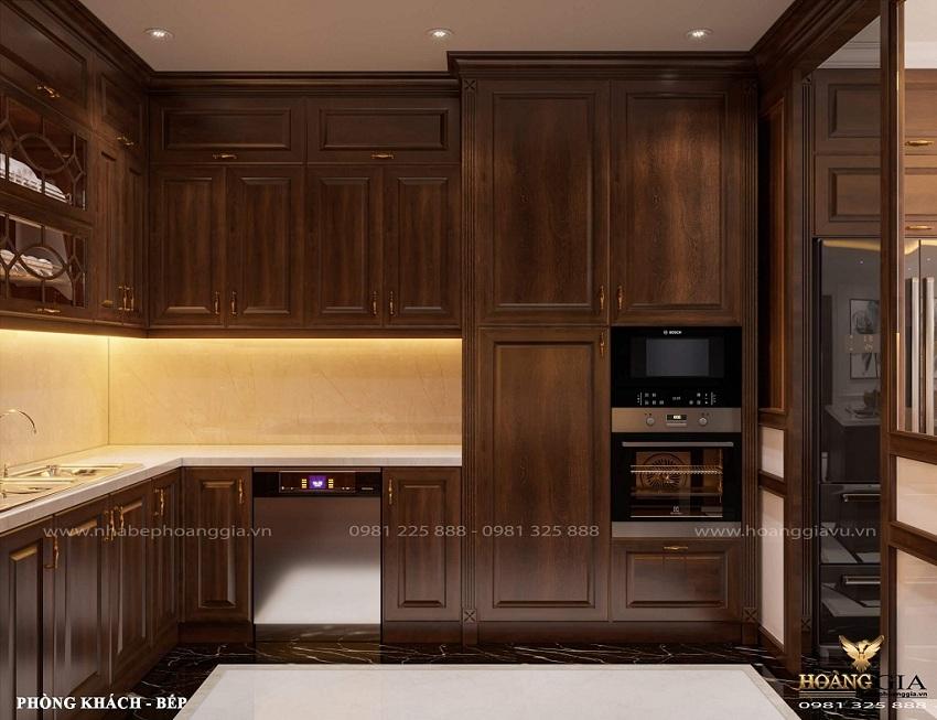 Tủ bếp khách hàng anh Nam Huỳnh Thúc Kháng