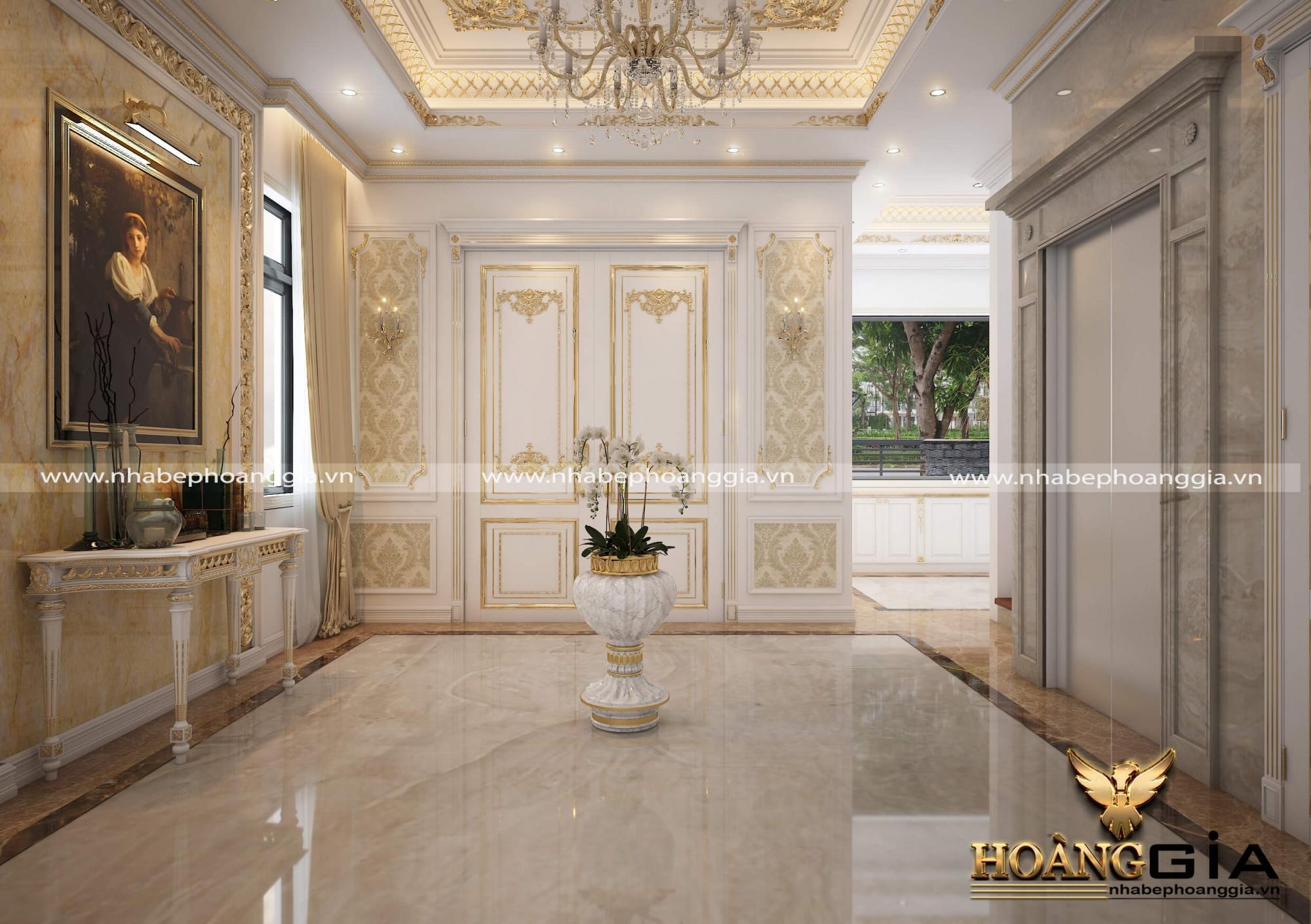 dự án thiết kế biệt thự nhà anh Sang Imperia Hải Phòng