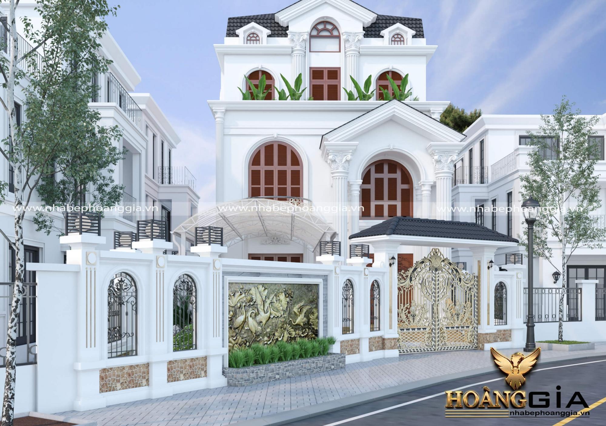 thiết kế biệt thự nhà vườn anh Tài