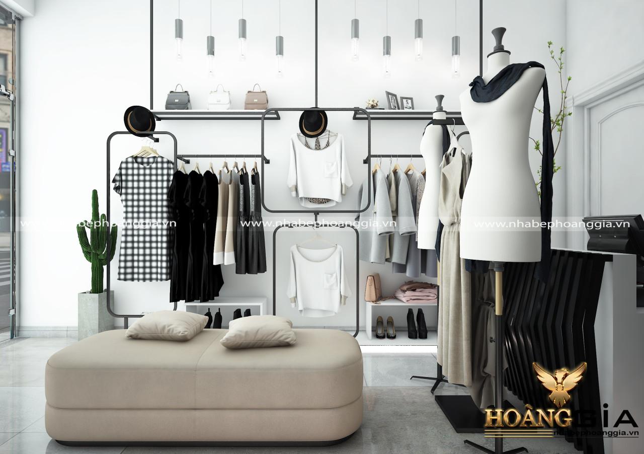 thiết kế và thi công cửa hàng thời trang