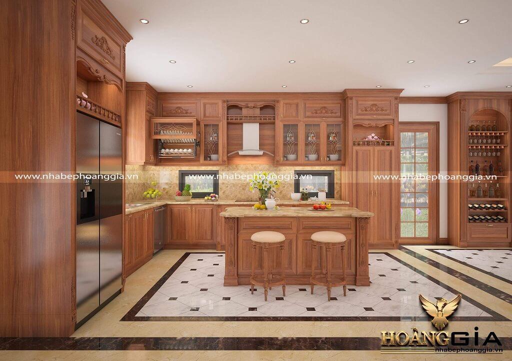 Tủ bếp - Khách hàng chị Hằng Vinhomes