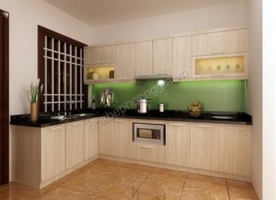 tủ bếp gỗ tự nhiên xoan đoàn