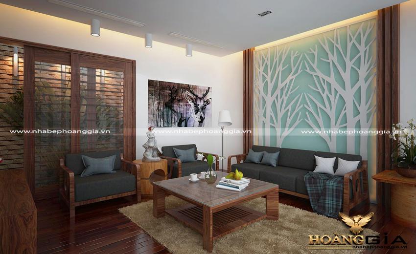 Những mẫu thiết kế sofa gỗ đẹp cho không gian sống của bạn