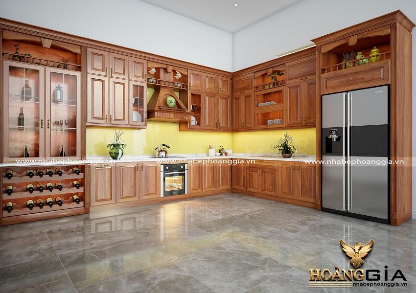 đóng tủ bếp ở đâu uy tín, chất lượng
