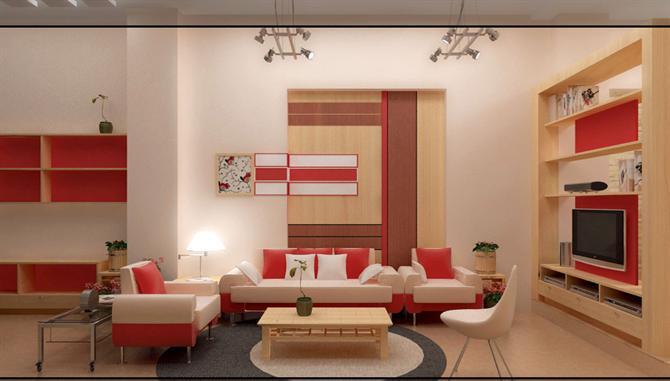 Màu sắc của mệnh Hỏa theo phong thủy trong thiết kế nội thất