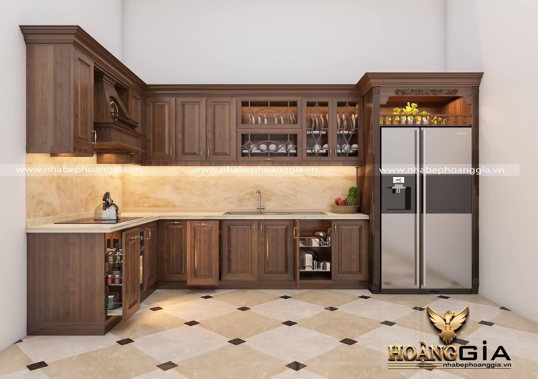 tủ bếp đep 1